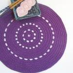 Purple shiny placemat - Doi..