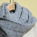 Crochet vegan cowl - Long -..