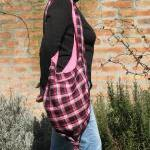 Knot Bag - Pink Checkered ..